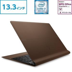 Core i7 8GBメモリ 512GB SSD(超高速PCIe規格) 13.3型 FHD IPS液晶 HP Spectre Folio 13 (型番:5LN33PA-AAAW) ノートパソコン office付き 新品|directplus