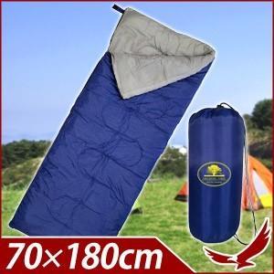 シュラフ 寝袋 一人用 快適温度約10〜25℃ 封筒型 キャ...