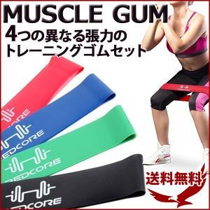 トレーニング ゴムバンド 筋トレ マッスルゴム MSCGUM...