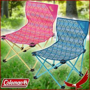 コールマン コンパクトクッションチェア グリーン ネイビー 椅子 チェア 折りたたみ 収納袋付き 軽量 持ち運び キャンプ 釣り アウトドア 観戦 Coleman