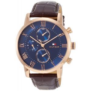 TOMMY HILFIGER トミーヒルフィガー  腕時計 1791399 メンズ ブラウン 並行輸入 100%正規品 discount-square