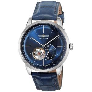 ZEPPELIN ツェッペリン 腕時計 メンズ おしゃれ 7364-3 ブルー Hindenburg 並行輸入 ドイツ 保証付 discount-square