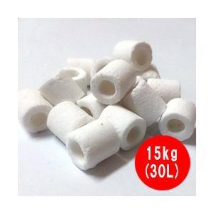 高性能 ろ材 バイオグラスリング 業務用 15kg(30L)|discountaqua2