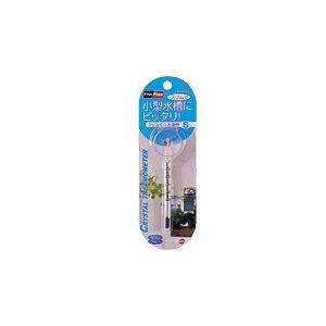 GEX クリスタル スリム 水温計 S アクアブルー 水槽用|discountaqua2