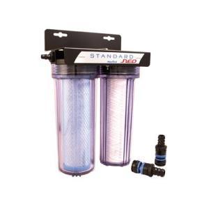 塩素除去/サビ除去/細菌除去  水道との接続は便利なクイックジョイントでワンタッチ。 さらに便利なリ...