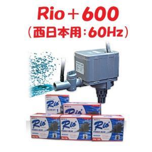 カミハタ Rio+600(西日本用:60Hz) リオプラス 水中ポンプ 水槽用|discountaqua2