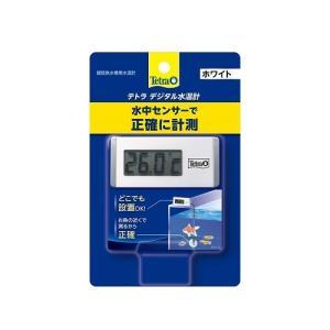 テトラ デジタル 水温計 ホワイト WD−1 水槽用|discountaqua2