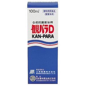 日動 観パラD(100ml) 合成抗菌薬浴剤 観賞魚用 魚病薬 discountaqua2