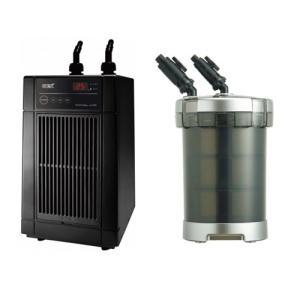 「GEX クールウェイ BK110」と「GEX メガパワー 6090」のセット 水槽用クーラーと水槽用外部フィルター|discountaqua2