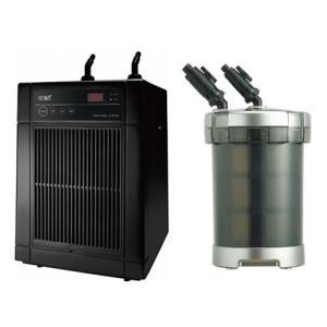「GEX クールウェイ BK210」と「GEX メガパワー 9012」のセット 水槽用クーラーと水槽用外部フィルター discountaqua2