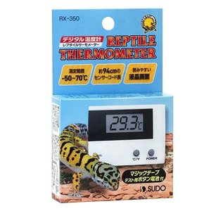 ■測定範囲:-50〜70℃ ■測定精度:±1℃以内(0〜40℃) ■適応動物:爬虫類・両生類・観賞魚...