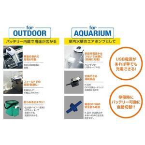 新発売 コトブキ 充電式エアポンプ オキシー 2800 エアーポンプ ダブルタイプ|discountaqua2|02