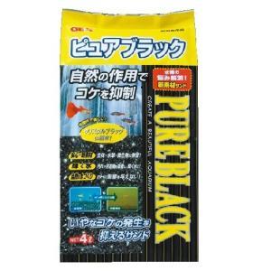 GEX ピュアブラック 4L 底床 砂利 淡水専用 鑑賞魚用品 熱帯魚用 discountaqua2