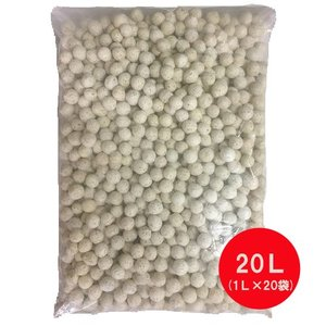 高性能 ろ材 バイオスーパープロ 20L 業務用|discountaqua2