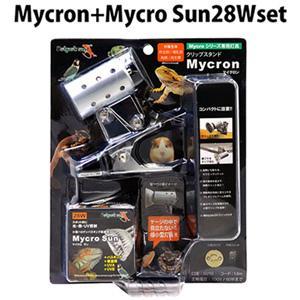 ゼンスイ クリップスタンド マイクロン28Wセット 紫外線 UVA 保温球 バスキング 爬虫類用|discountaqua2