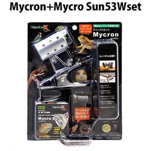 ゼンスイ クリップスタンド マイクロン53Wセット 紫外線 UVA 保温球 バスキング 爬虫類用|discountaqua2