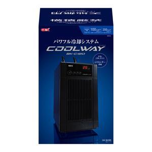 新商品 GEX クールウェイ BK-C120(100L以下) 水槽用クーラー 淡水 海水用|discountaqua2