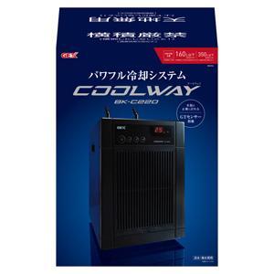 新商品 GEX クールウェイ BK-C220 (160L以下) 水槽用クーラー 淡水 海水用|discountaqua2