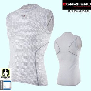 LOUIS GARNEAU[ルイガノ]MESH CARBON SLEEVELESS[メッシュカーボンスリーブレス]|discovery-jp