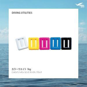 GULL[ガル]カラーウエイト 1kg[KA-9090]|discovery-jp