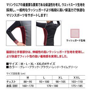[男性用]dlife[デライフ]ストレッチウォームラッシュガード[Stretch Warm Rash Guard]メンズタッパ discovery-jp 04