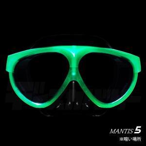 【完売御礼】GULL[ガル]蓄光マンティス5ブラックシリコンマスク[MANTIS5]蓄光カナールステイブルスノーケル[排水弁付]蓄光マスクスノーケル2点セット discovery-jp 02