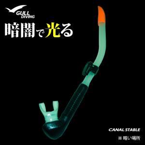 [男性用]GULL[ガル]カナールステイブルスノーケル[排水弁付き]蓄光モデル限定|discovery-jp