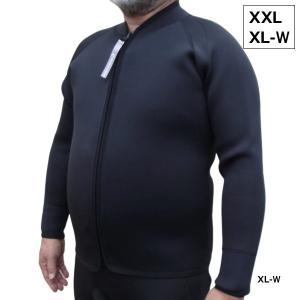 男性用 deepoutdoors ディープアウトドア 3mm ジャケット Jacket XXL XL...
