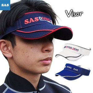 SAS[エスエーエス]バイザー[40041]サンバイザー|discovery-jp
