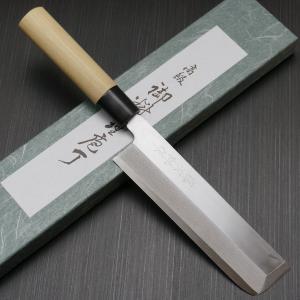包丁 薄刃 195mm 藤次郎 藤次郎作 安来鋼白紙2号 鍛造 朴木柄 業務用 本職用 プロ用 噛み付くような切れ味 日本製 F-942 discovery-shop