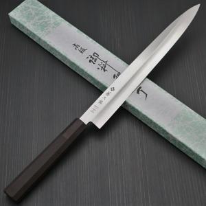 包丁 柳刃刺身 270mm 藤次郎 藤次郎作 モリブデンバナジウム鋼 ステンレス 樹脂柄 9寸 鋭い切れ味 日本製 FD-1112|discovery-shop