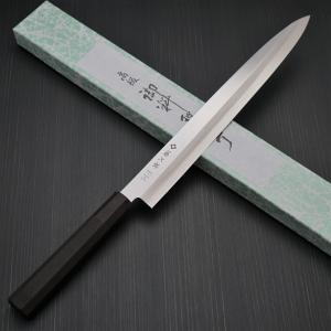 包丁 柳刃刺身 300mm 藤次郎 藤次郎作 モリブデンバナジウム鋼 ステンレス 樹脂柄 10寸 鋭い切れ味 日本製 FD-1113|discovery-shop