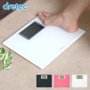 ボディスケール「グランデ」 体重計 ヘルスメーター 薄型 大画面液晶|dish