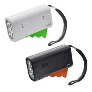 グリップ充電LEDライト|dish