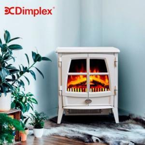 Dimplex 暖炉型ファンヒーター 小型 暖炉 ヒーター おしゃれ 北欧 インテリア 電気暖炉 足元 暖房機 グレー|dish