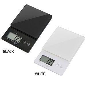 デジタルケール 2kg デジタルスケール 0.1g単位で計量♪おしゃれなガラス皿でお手入れもカンタンです ks-245|dish