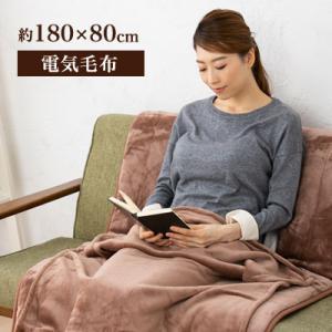 電気毛布 敷き シングル 180×80cm らく寝ぼう 洗える 水洗い 丸洗い 温度調整 ダニ撃退 リフォン 広電|dish