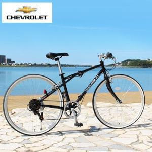 シボレー 折り畳み自転車 700C クロスバイク 6段階 ギア付き シェビー マウンテンバイク ブラック 通勤 サイクリング|dish