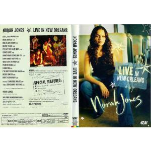 NORAH JONES ノラ・ジョーンズ ライヴ・イン・ニュー・オリンズ [中古DVDレンタル落]|disk-kazu-saito