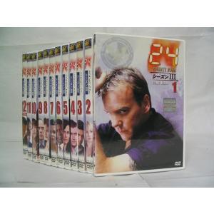 24 TWENTY FOUR トゥエンティ フォー シーズン3 1〜12 (全12枚)(全巻セットDVD) 中古DVD disk-kazu-saito