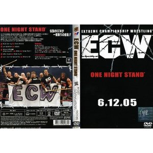 ECW ONE NIGHT STAND ECWワンナイトスタンド2005 [字幕]|中古DVD|disk-kazu-saito