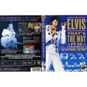 EVLIS THAT'S THE WAY IT IS エルヴィス・オン・ステージ スペシャル・エディション [字幕]|中古DVD|disk-kazu-saito