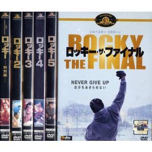 ロッキー 六部作セット (全6枚)(全巻セットDVD) [シルベスター・スタローン] 中古DVD [K] disk-kazu-saito