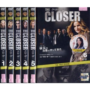 THE CLOSER クローザー 1stシーズン 1〜6 (...