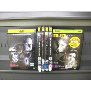 X FILES SEASON 1 Xファイル ファーストシーズン 1〜6 (全6枚)(全巻セットDVD)|中古DVD|disk-kazu-saito