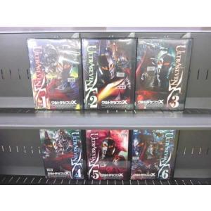 ウルトラセブンX 1〜6 (全6枚)(全巻セットDVD) 中古DVD disk-kazu-saito