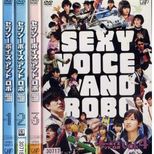 セクシーボイス アンド ロボ SEXY VOICE AND ROBO 1〜4 (全4枚)(全巻セットDVD) 中古DVD disk-kazu-saito
