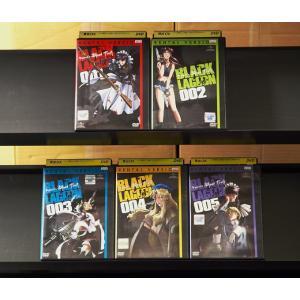 OVA BLACK LAGOON Roberta's Blood Trail 001〜005 (全5枚)(全巻セットDVD) 中古DVD disk-kazu-saito