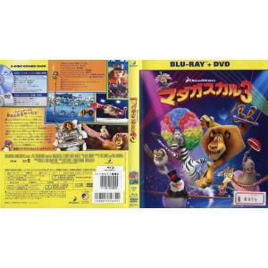 マダガスカル3 ブルーレイ+DVDセット [中古DVD/ブルーレイレンタル落]|disk-kazu-saito