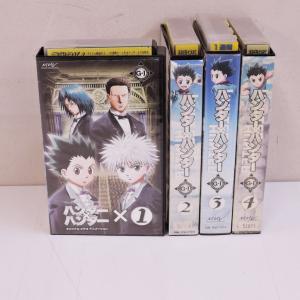 【VHS】HUNTER×HUNTER ハンター×ハンター OVA グリードアイランド 1〜4 (全4...